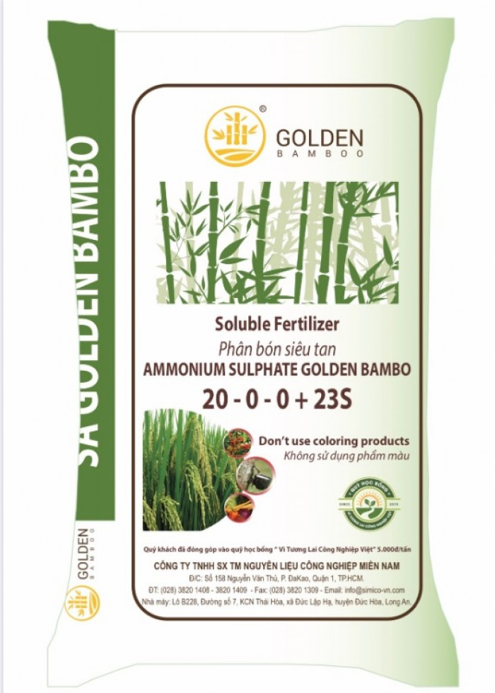 Phân Đạm 20.5% - Ammonium Sulphate Golden Bamboo2
