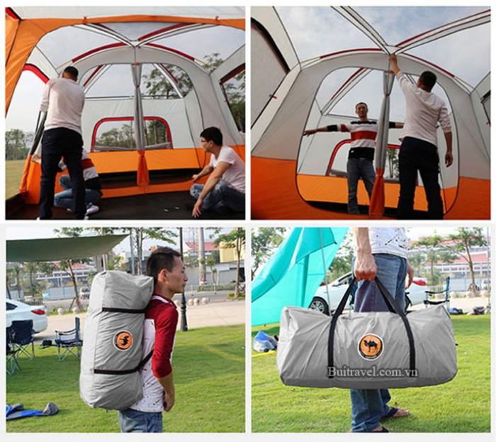 Lều cắm trại dành cho 5-8 người CM6811 SALE 4800k (giá gốc 5300k)4