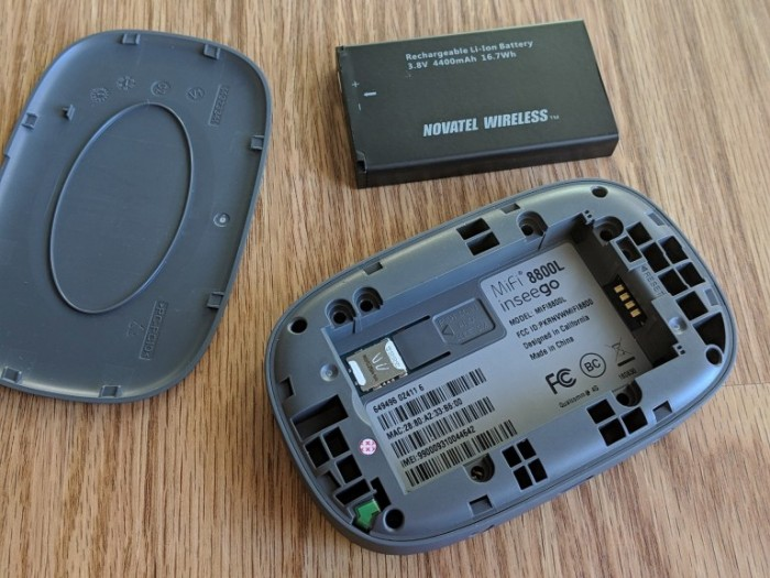 Thiết bị phát wifi 4G mifi 8800L novatel verizon like new 98%3