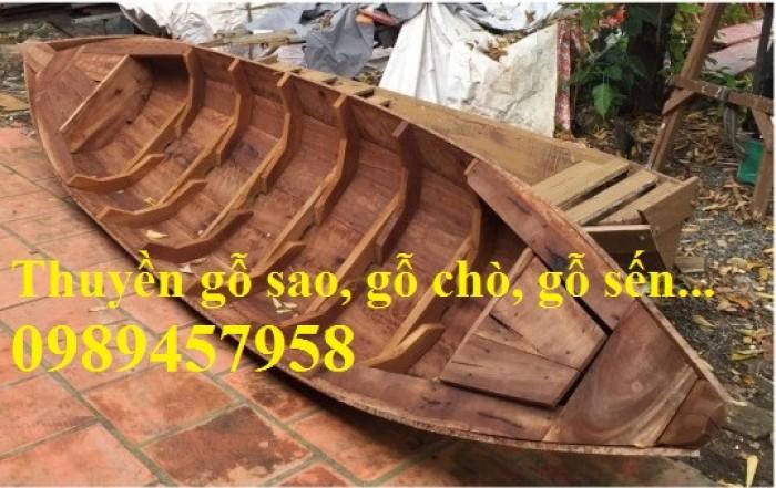 Cung cấp xuồng gỗ, thuyền gỗ giá rẻ tại Sài Gòn5
