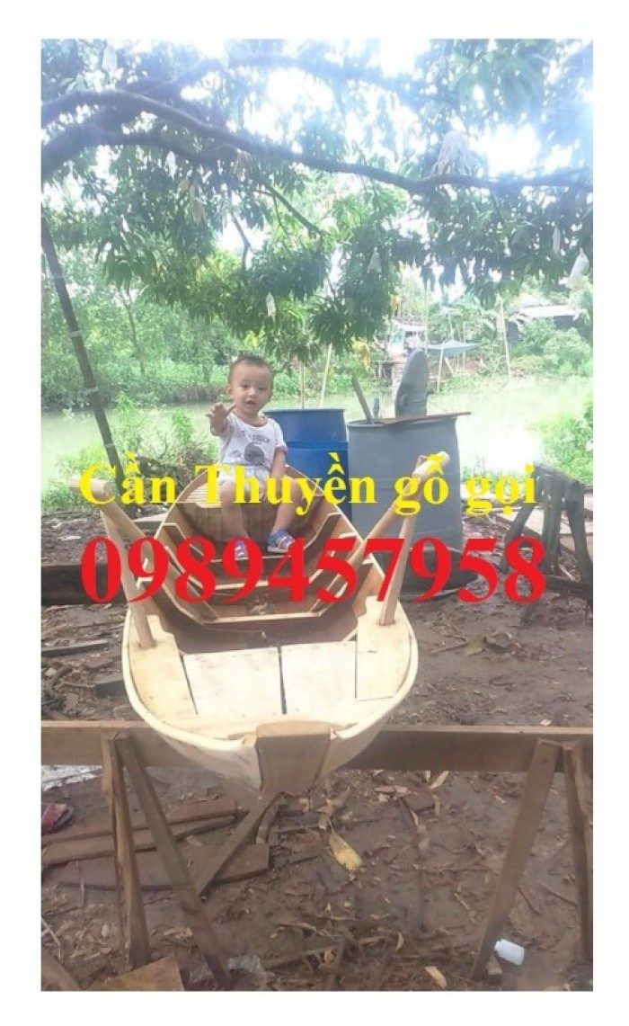 Cung cấp xuồng gỗ, thuyền gỗ giá rẻ tại Sài Gòn6