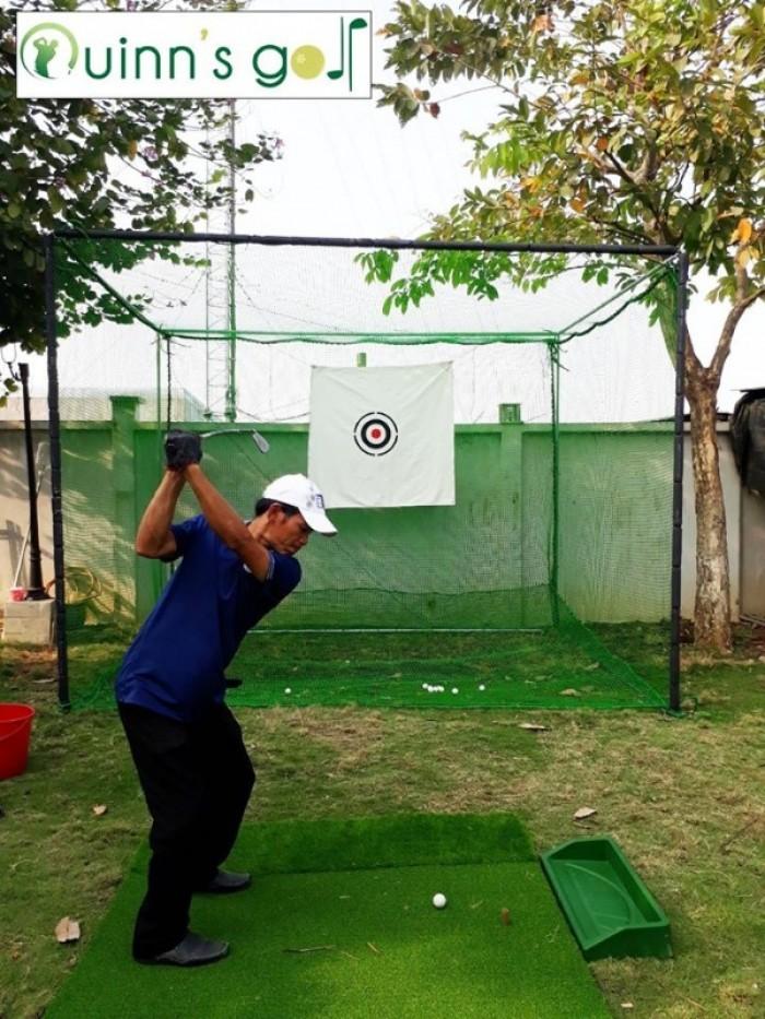 Bộ khung lều tập Golf tại nhà2