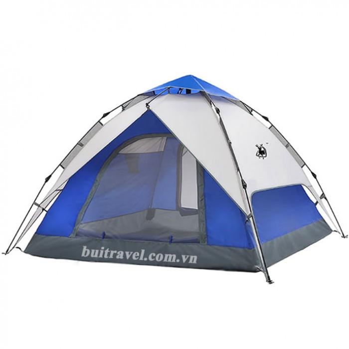Lều cắm trại ngoài trời thiết kế tự bung 2 lớp0