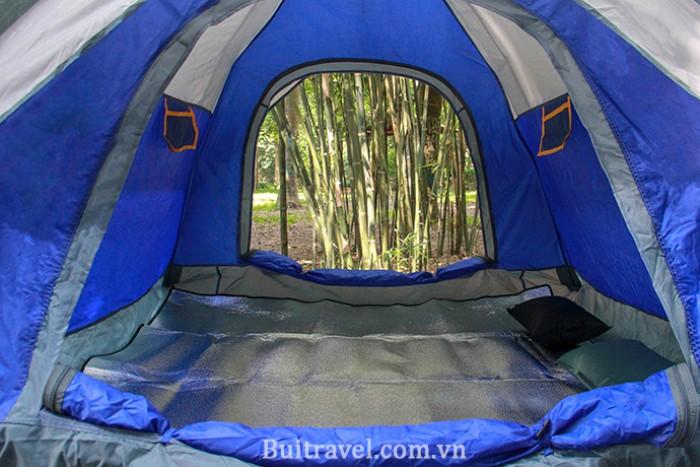 Lều cắm trại ngoài trời thiết kế tự bung 2 lớp2