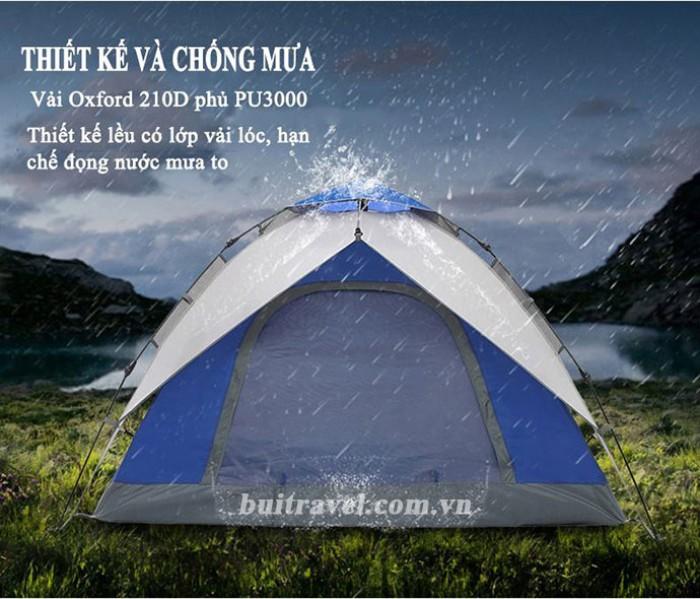 Lều cắm trại ngoài trời thiết kế tự bung 2 lớp3