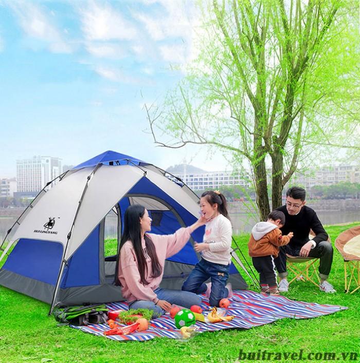 Lều cắm trại ngoài trời thiết kế tự bung 2 lớp5