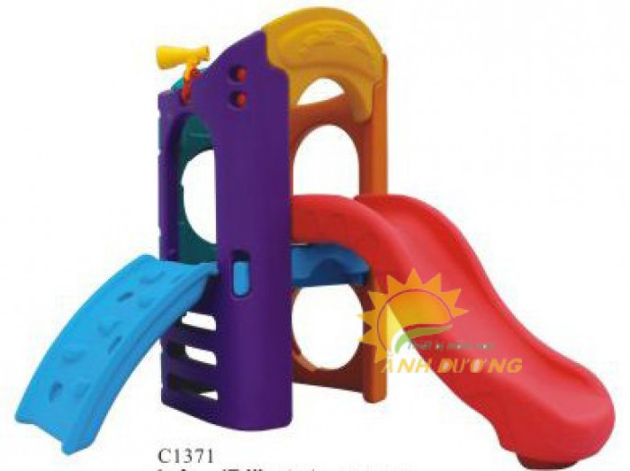 Chuyên bán cầu trượt cao cấp cho trẻ mầm non giá rẻ, uy tín, chất lượng nhất1