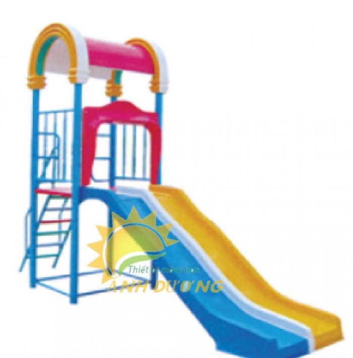 Chuyên bán cầu trượt cao cấp cho trẻ mầm non giá rẻ, uy tín, chất lượng nhất13