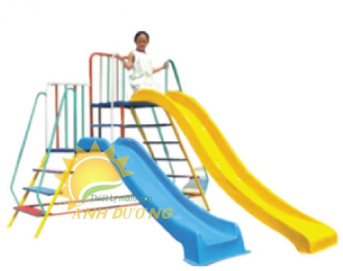 Chuyên bán cầu trượt cao cấp cho trẻ mầm non giá rẻ, uy tín, chất lượng nhất5