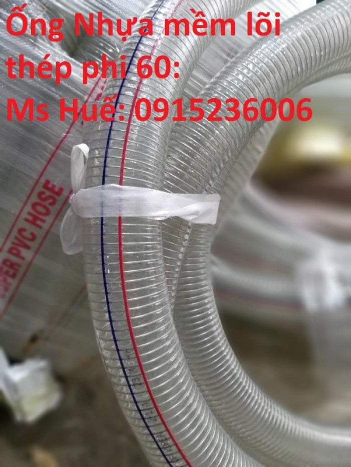 Ống nhựa mềm lõi thép phi 60, phi 70, phi 80, phi 90, phi 100, phi 150, phi 200, phi 300 phân phối toàn quốc