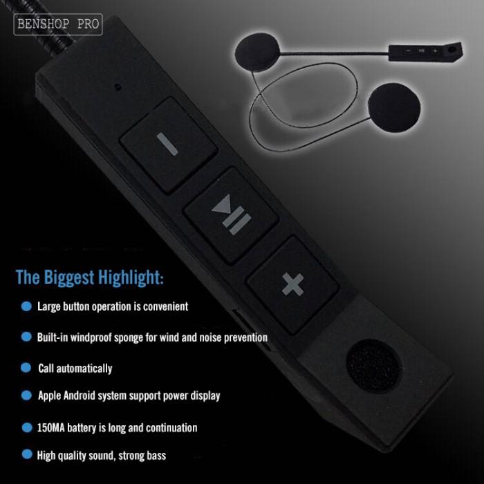 Tai nghe Bluetooth gắn mũ bảo hiểm BT89
