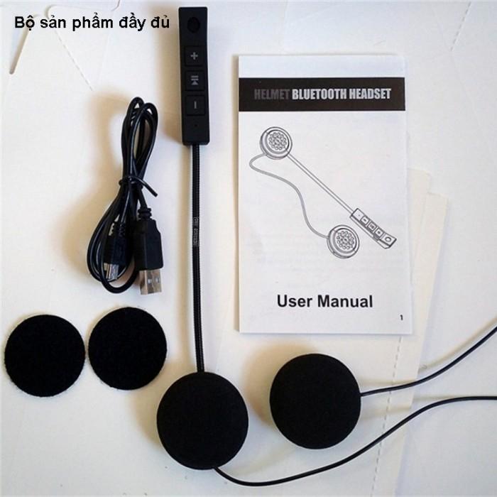 Tai nghe Bluetooth gắn mũ bảo hiểm BT812