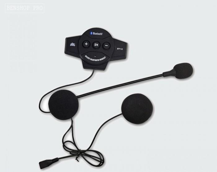 Tai nghe Bluetooth cao cấp gắn mũ bảo hiểm BT101