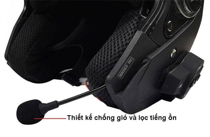 Tai nghe Bluetooth cao cấp gắn mũ bảo hiểm BT103