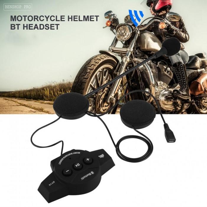 Tai nghe Bluetooth cao cấp gắn mũ bảo hiểm BT1010