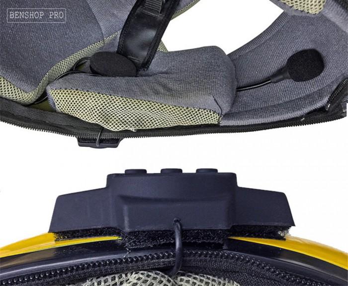 Tai nghe Bluetooth cao cấp gắn mũ bảo hiểm BT109