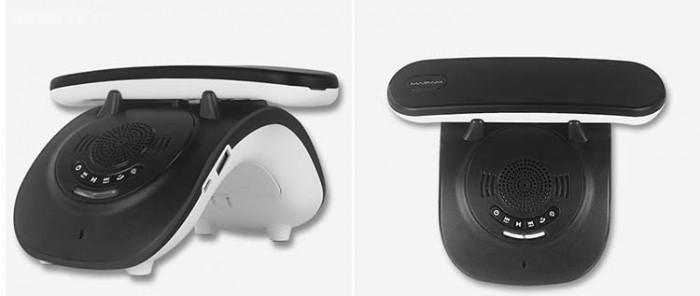 Điện thoại cố định 2 sim, sạc pin cho smartphone, tích hợp loa bluetooth Mafam M300