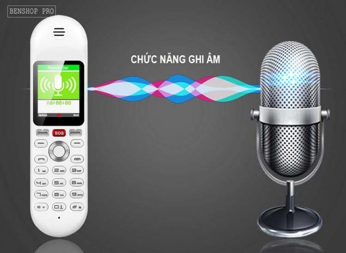 Điện thoại cố định 2 sim, sạc pin cho smartphone, tích hợp loa bluetooth Mafam M304