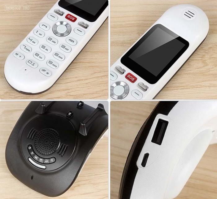 Điện thoại cố định 2 sim, sạc pin cho smartphone, tích hợp loa bluetooth Mafam M3011