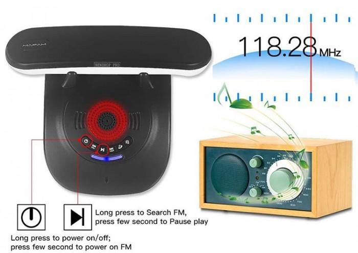 Điện thoại cố định 2 sim, sạc pin cho smartphone, tích hợp loa bluetooth Mafam M309