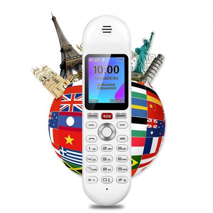 Điện thoại cố định 2 sim, sạc pin cho smartphone, tích hợp loa bluetooth Mafam M3014