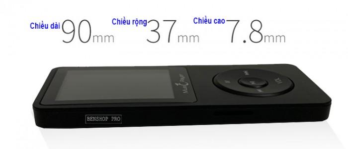 Máy nghe nhạc MP3 UnisCom X02 (4G)1