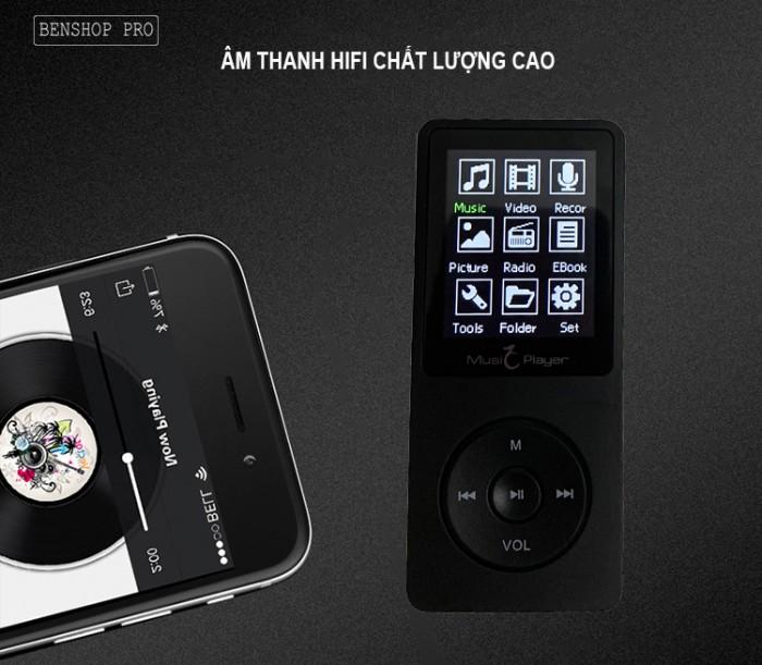 Máy nghe nhạc MP3 UnisCom X02 (4G)10