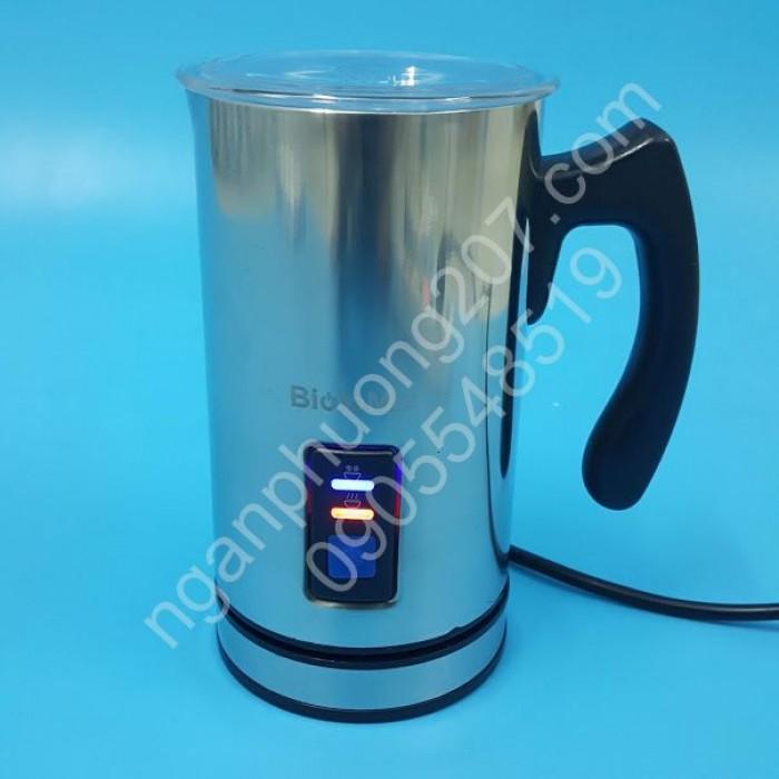 Máy đánh bọt sữa, hâm nóng sữa siêu tốc Biolomix 500W5