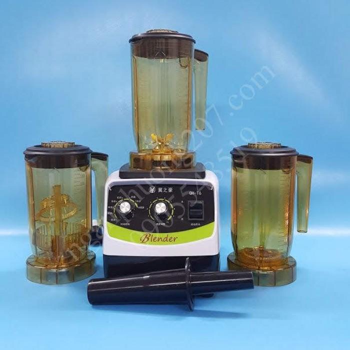 Máy ủ trà, đảo trà Blender QH-T06 công suất 1500W, 3 cối3