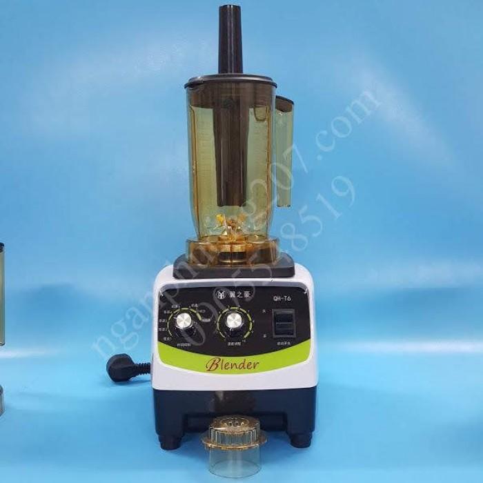 Máy ủ trà, đảo trà Blender QH-T06 công suất 1500W, 3 cối0