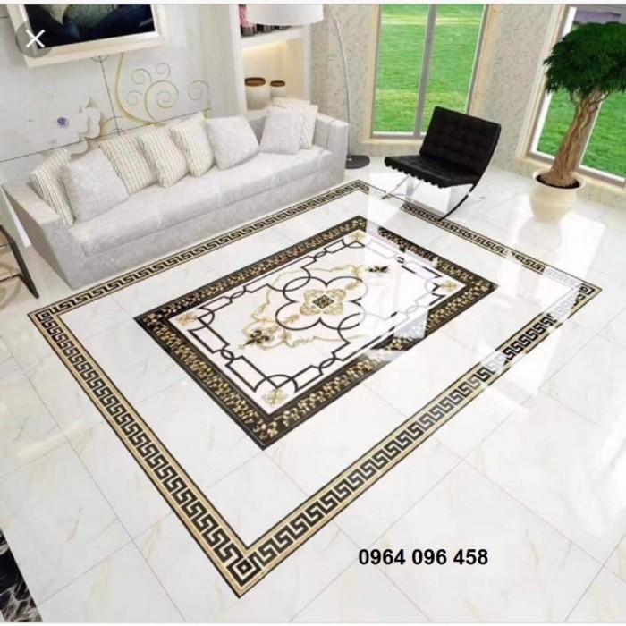 gạch thảm - thảm gạch trang trí phòng khách6