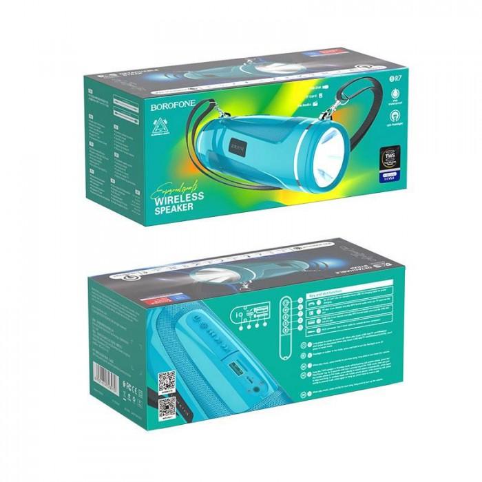 Loa bluetooth Borofone BR7 Chính Hãng Nghe Nhạc, gọi điện, FM, hỗ trợ thẻ nhớ, USB7