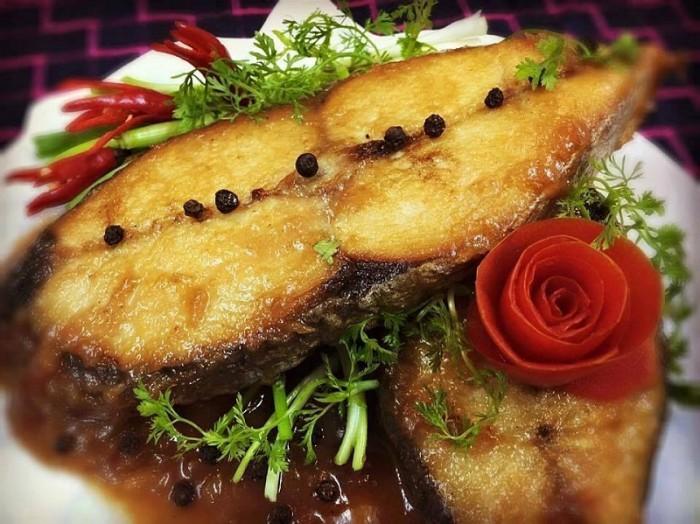 Đặc sản xứ Nghệ: Cá thu nướng – Biển Quỳnh Food1
