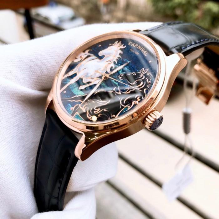 Set Đồng hồ và Zippo ngựa chính hãng, sự kết hợp hoàn hảo
