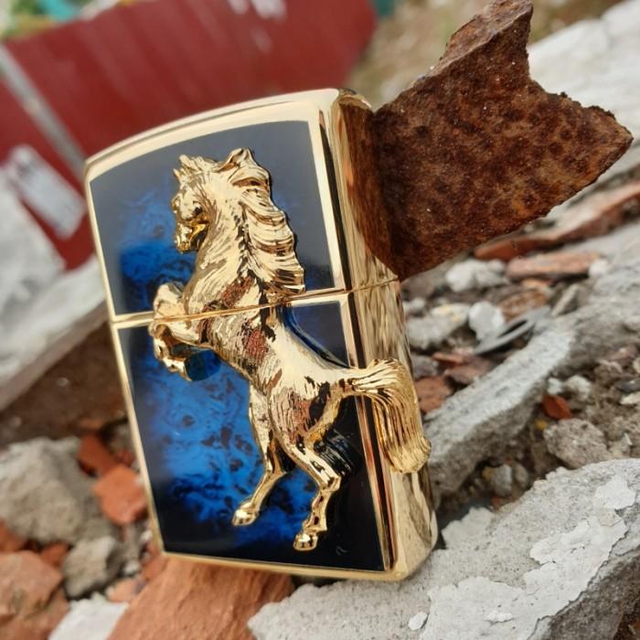 Set Đồng hồ và Zippo ngựa chính hãng, sự kết hợp hoàn hảo6
