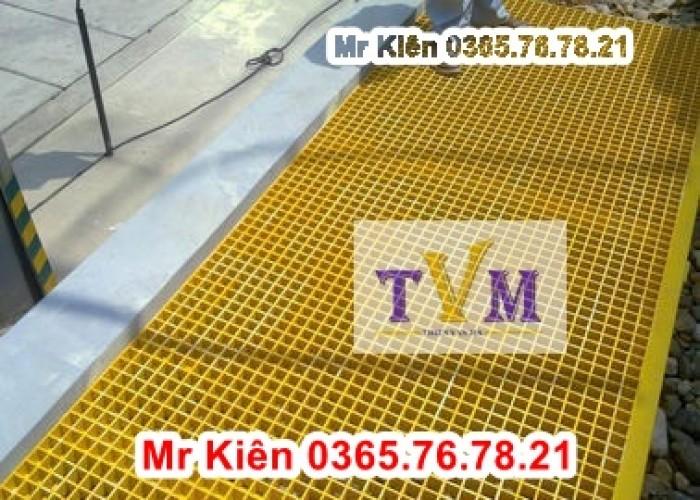 Cung cấp tấm sàn frp grating, tấm sàn ô lưới sợi thủy tinh tại miền nam4