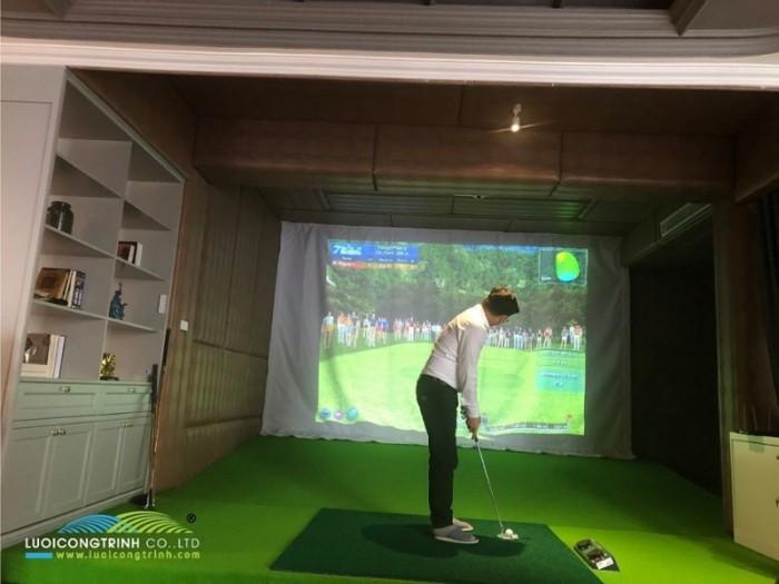 Nhận thiết kế và thi công sân tập golf 3D khu vực miền Bắc0