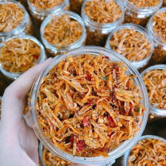 Đặc sản Biển Quỳnh Food - Cá ngần rim1