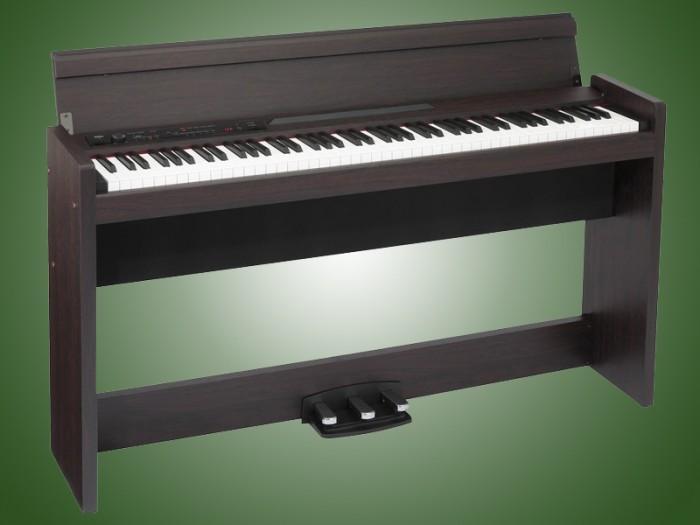 Piano điện Korg LP 380 là thế hệ piano điện mới nhất của hãng KORG với chất lượng Nhật Bản. Đàn được thiết kế mảnh mai và phong cách hiện đại. Với chiều sâu là 26cm, đàn có thể phù hợp với mọi không gian.