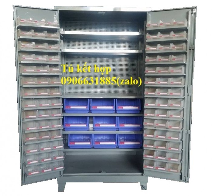 Tủ đồ nghề cơ khí, tủ đựng linh kiện, tủ gia công3