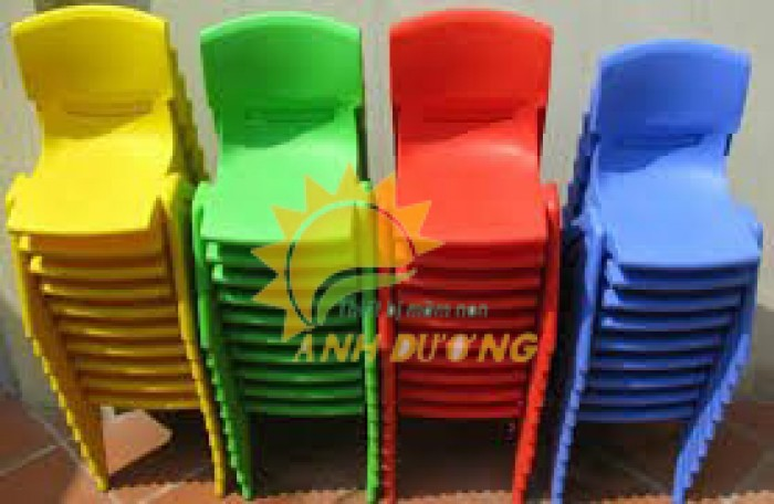 Chuyên cung cấp ghế nhựa đúc chắc chắn dành cho trẻ em mầm non1