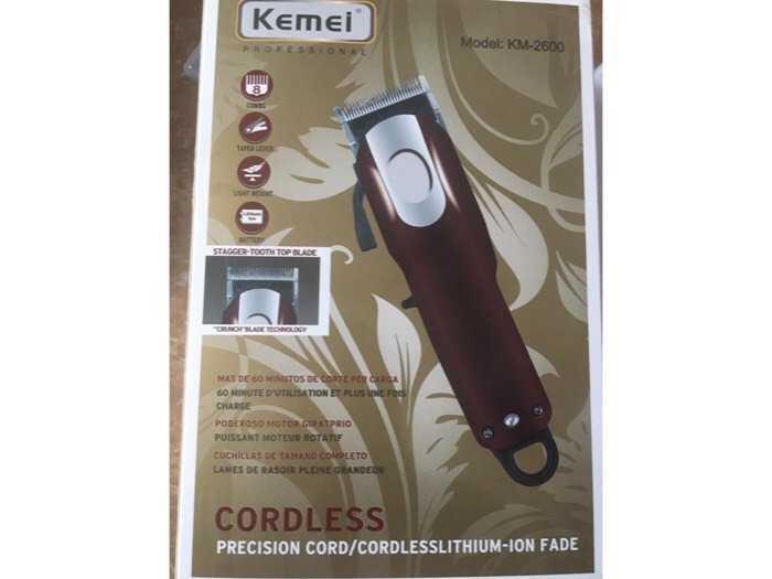Tông đơ cắt tóc KEMEI  Model KM- 2600 Hàng đẹp chất lượng cao1