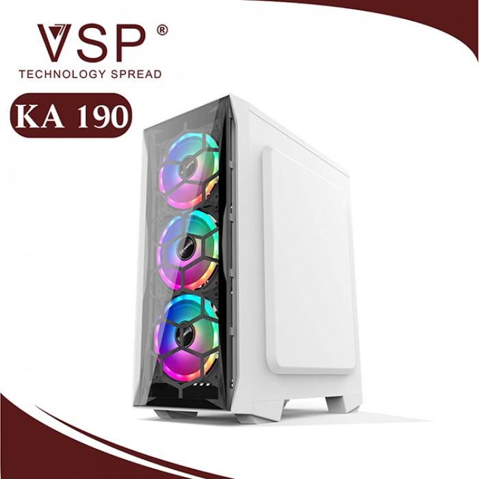 VỏthùngCaseVSP KA 190 Nebula kính cường lực chính hãng (Trắng - Đen)0