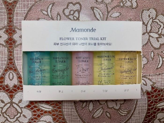 Set 5 chai Toner mini Mamonde1