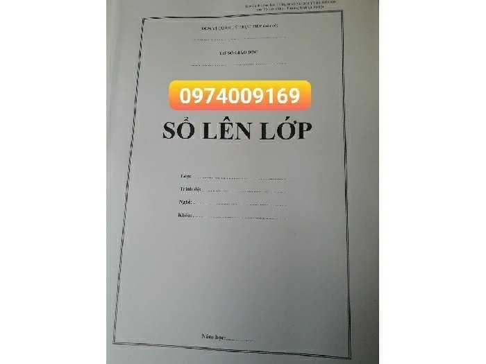 Bán sổ lên lớp mẫu số 3,số 5 (09740091690