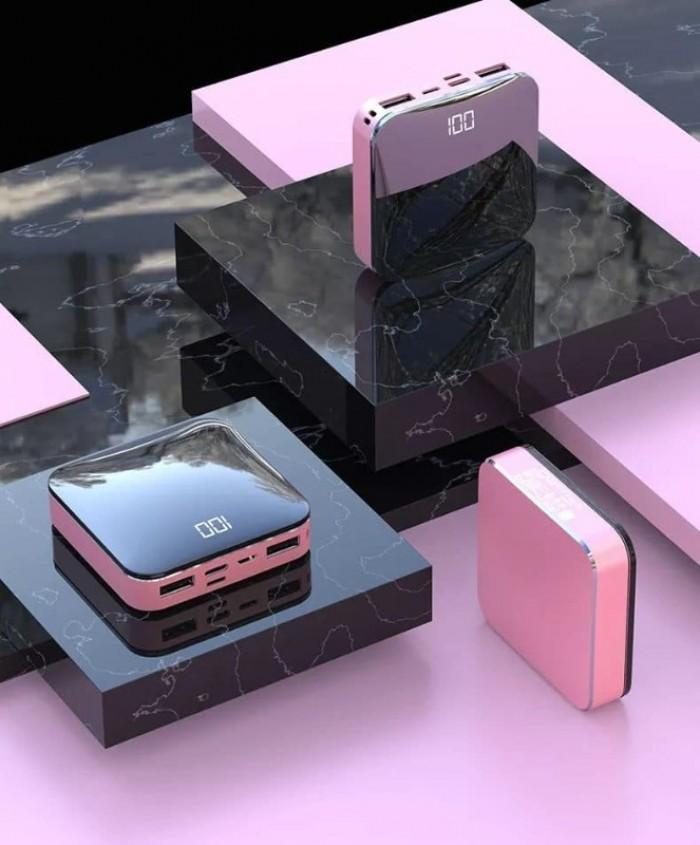 Pin Sạc dự phòng PISEN Mini D92 Mirror 10000mAh có LCD sang trọng3