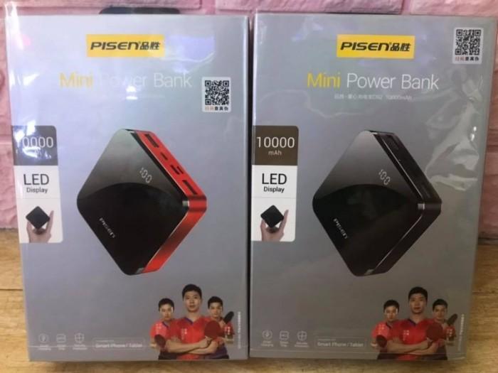 Pin Sạc dự phòng PISEN Mini D92 Mirror 10000mAh có LCD sang trọng2