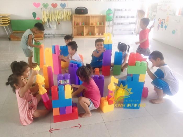 Chuyên cung cấp đồ chơi lắp ghép nhiều chi tiết cho trẻ em mẫu giáo, mầm non3