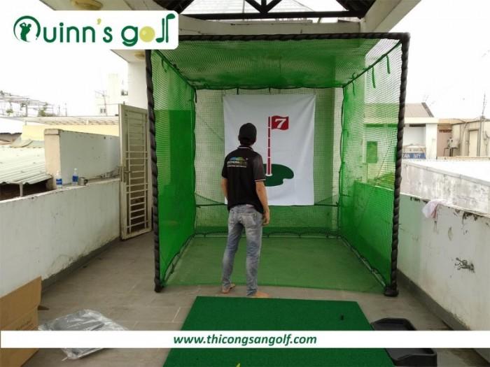 Bộ khung lều tập Swing/Driver dành cho Golfer tại Gia1