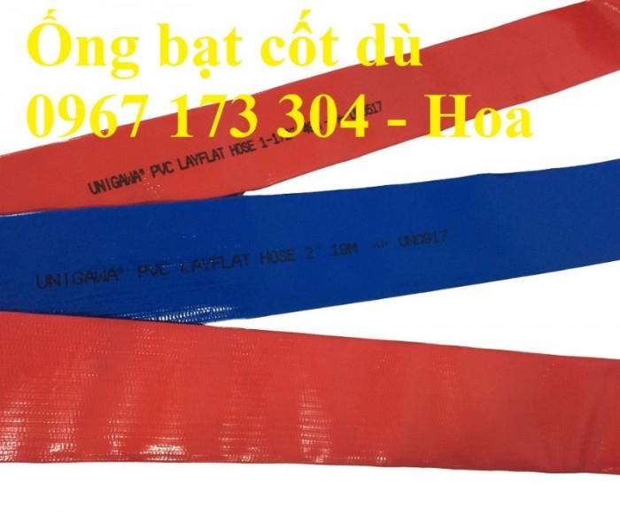Ống bạt xanh xả nước Phi 100 giá rẻ4